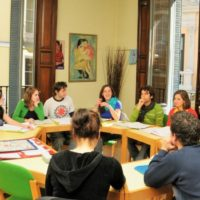 1. Reflection on the role of the teacher in the classroom. 2. Preparation of lessons for children, youth, adults and companies. 3. Examples of listening exercises, oral statements, reading comprehension. 4. Pedagogical grammar and communication in the grammar teaching process. 5. A new Spanish political landscape. 6. Use of music in the teaching process. 7. Interesting biography. 8. New technologies and social networks in the ELE class