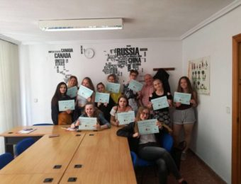spanish course for school group alicante