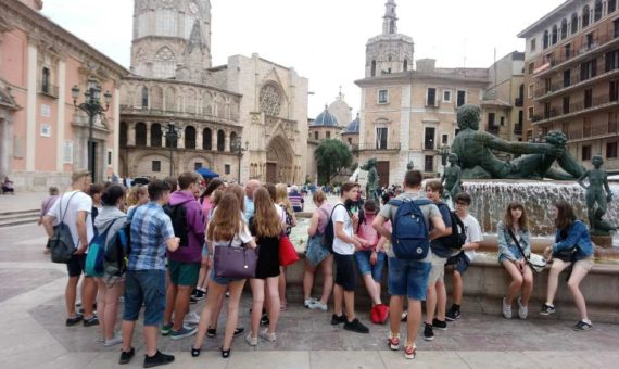 Spanish Course in Valencia for School Groups